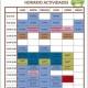 HORARIOS ACTIVIDADES 2017
